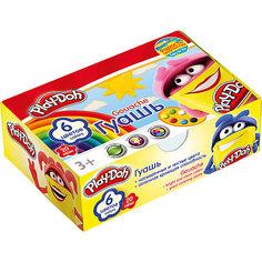 """Гуашевые краски """"Play Doh"""", 6 цветов по 20 мл Академия групп"""