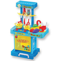 """Игровой набор """"Маленькая кухня"""" в чемоданчике, сборная, со звуком и светом, ALTACTO"""
