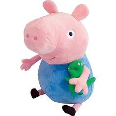 """Мягкая игрушка """"Джордж с динозавром"""", 40 см, Свинка Пеппа Росмэн"""