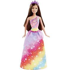 Кукла Принцесса в цветном, Barbie Mattel