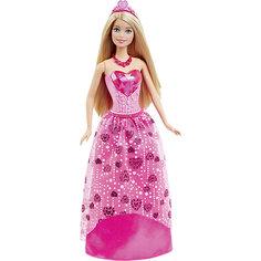 Кукла Принцесса в розовом, Barbie Mattel
