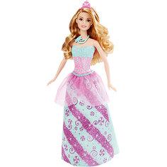 Кукла Принцесса в голубом, Barbie Mattel