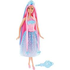 """Кукла """"Принцесса"""" с розовыми волосами, Barbie Mattel"""