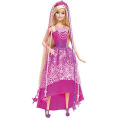 Кукла-принцесса с волшебными волосами, Barbie Mattel