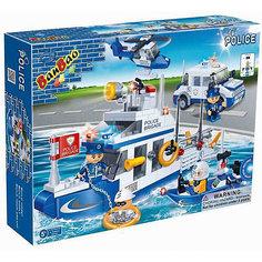 """Конструктор """"Полицейская команда: катер, джип, лодка, вертолет"""", BanBao"""