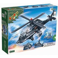 """Конструктор """"3 в 1: вертолет, танк, корабль"""",  BanBao"""