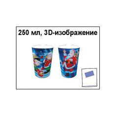 """Стакан """"Новогодний"""" с 3D-изображением, 250 мл Marko Ferenzo"""