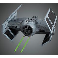 """Сборная модель """"Истребитель TIE Advance1/72"""", Звездные Войны Bandai"""