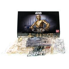 """Сборная модель """"C-3PO 1/12"""", Звездные Войны Bandai"""