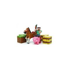 Набор фигурок с аксессуарами, Minecraft Jazwares