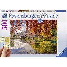 """Пазл """"Тихая мельница"""", 500 деталей, Ravensburger"""