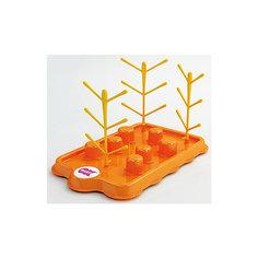 Поднос-сушилка для бутылочек и сосок, Bibosec, Ok Baby, оранжевый