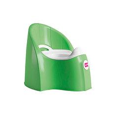 Горшок Pasha, Ok Baby, ярко-зеленый