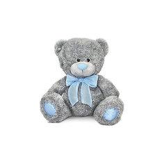 Медведь с голубым бантом, музыкальный, 24 см., LAVA