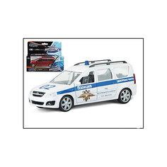"""Машина """"LADA LARGUS"""", полиция, 1:38 Autotime"""
