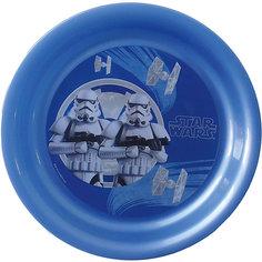 """Тарелка """"Звездные войны"""" (диаметр 19 см), Звездные войны, синий МФК профит"""