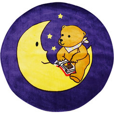 "Ковер ""Мишка на луне"", диаметр 1,2 м Амиго"