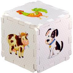 """Кубик EVA """"Домашние животные"""" Робинс"""