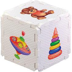 """Кубик EVA """"Игрушки"""" Робинс"""