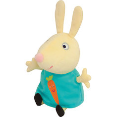 """Мягкая игрушка """"Ребекка с морковью"""", 20см, Свинка Пеппа Росмэн"""