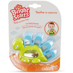 """Прорезыватель для зубок """"Динозаврик"""", зеленый, Bright Starts"""