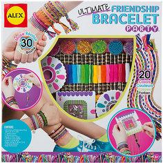 """Большой набор для плетения браслетов """"Друзья"""", ALEX"""