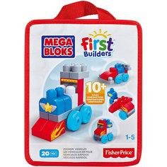 Конструктор красный, MEGA BLOKS First Builders