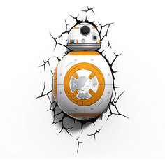 """Пробивной 3D светильник """"Дроид BB-8"""", Звёздные Войны Детское время"""