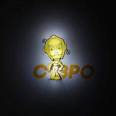 """Пробивной мини 3D светильник """"C-3PO"""", Звёздные Войны Детское время"""
