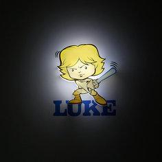 """Пробивной мини 3D светильник """"Люк Скайуокер"""", Звёздные Войны Детское время"""