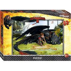 """Пазл """"Как приручить дракона-2"""", 104 детали, Step Puzzle"""
