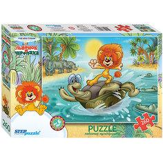 """Пазл """"Львенок и черепаха"""", 260 деталей, Step Puzzle"""