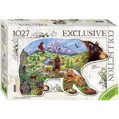 "Пазл ""Медведь"", 1027 деталей, Step Puzzle"