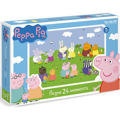 """Пазл """"Свинка Пеппа"""", 24 детали, Origami"""
