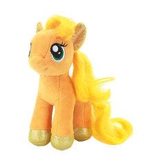 """Мягкая игрушка """"Пони Эпплджек"""", 18 см, со звуком, My little Pony, МУЛЬТИ-ПУЛЬТИ"""
