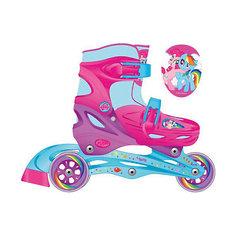 Роликовые коньки, раздвижные, My little Pony Next