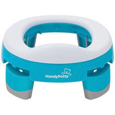 Дорожный горшок HandyPotty, голубой Roxy Kids