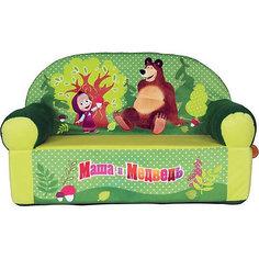 """Салатовый диван """"Маша и Медведь"""" СмолТойс"""
