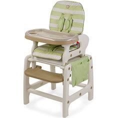 Стульчик-трансформер Oliver V2, Happy Baby, зеленый