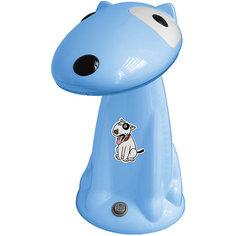 Настольный светильник Собака 18Вт КЛЛ, Ultra Light, голубой