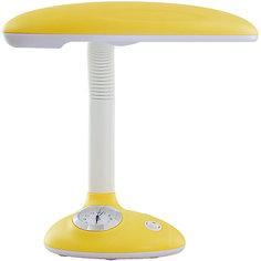 Светильник-часы, 11 Вт, Ultra Light, желтый