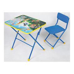 "Набор мебели ""Азбука"" (стол, стул, пенал), Феи Дисней Nika"