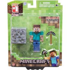 """Игровой набор """"Стив"""", Minecraft Jazwares"""