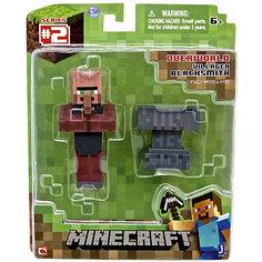 """Игровой набор """"Деревенский житель"""", Minecraft Jazwares"""