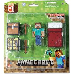 """Игровой набор """"Набор для выживания"""", Minecraft Jazwares"""
