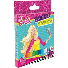 Восковые мелки, 12 цветов, Barbie Академия групп