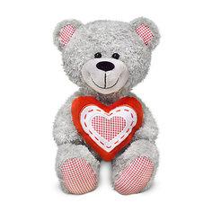 Медведь с красным сердцем, музыкальный, 22 см, LAVA