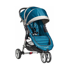 Прогулочная коляска Baby Jogger City Mini Single, бирюзовый-серый