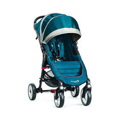Прогулочная коляска Baby Jogger City Mini Single 4Wheel, бирюзовый-серый