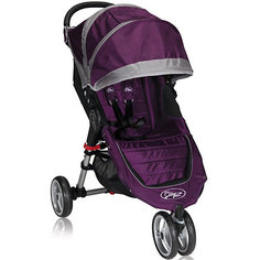 Прогулочная коляска Baby Jogger City Mini Single, фиолетово-серый